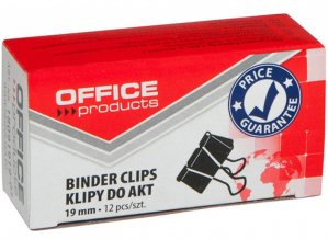 Зажимы 19мм Office Products 12шт